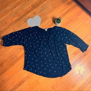 Old Navy dolman sleeve top